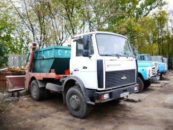 Аренда мусоровоза МАЗ МКС-3501 - 8 м3 (9 тонн)