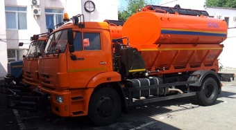 Аренда поливомоечной машины на базе КАМАЗ 4325 - (8 м3)