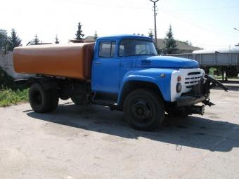 Аренда поливомоечной машины на базе ЗИЛ - (6 м3)